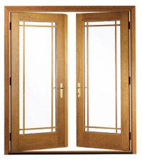Replacement Hinged French Patio Doors - Pella Retail