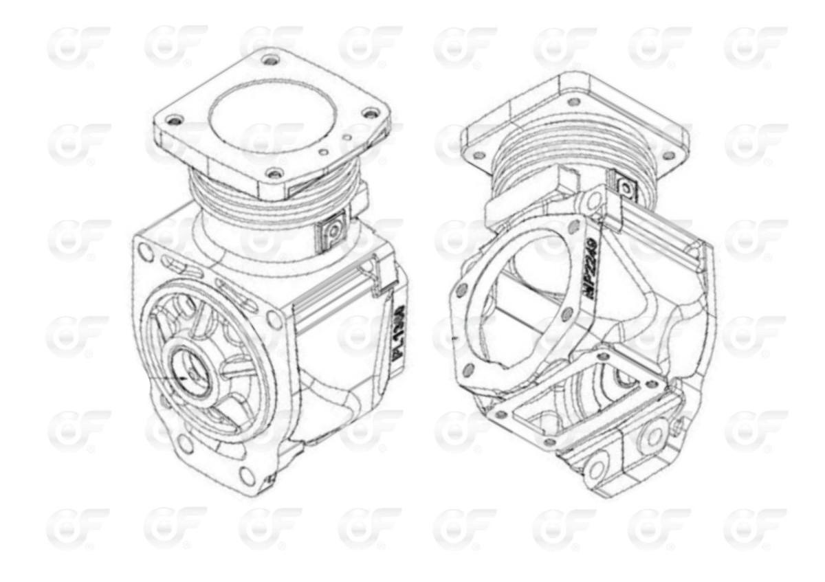 Cilindro Integral Marelli 70 Fiat 619