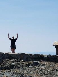 Jag på berget i KOPAONIK