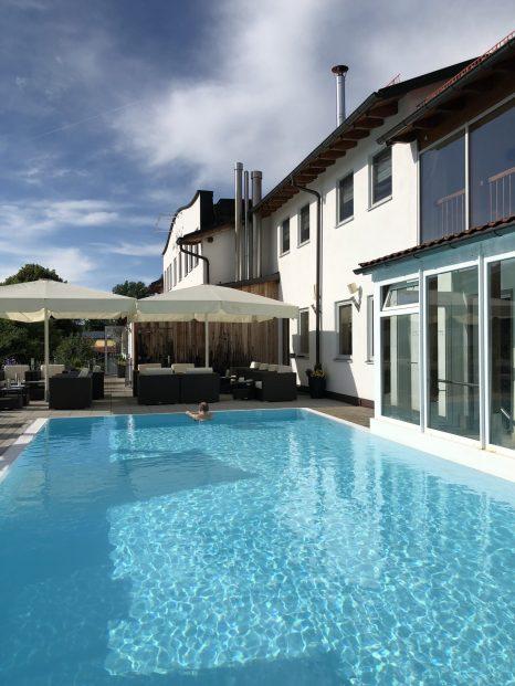 Hotel Sommer i Füssen- Ett mysig spa och Wellness hotell