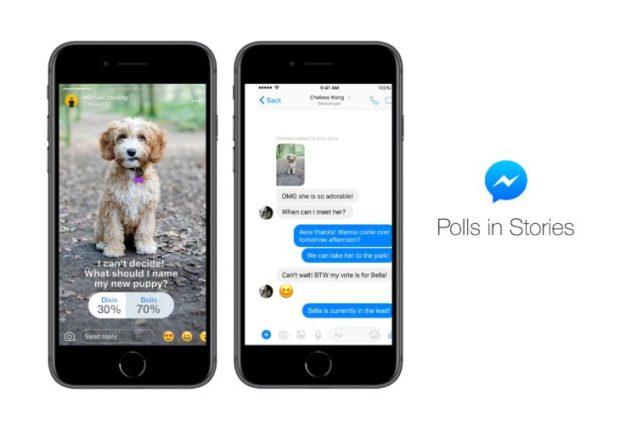 Facebook lance les sondages dans les stories Messenger