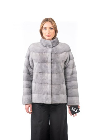 Grey Mink jacket