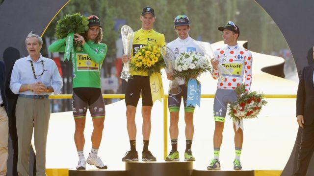 Pódio do Tour de France