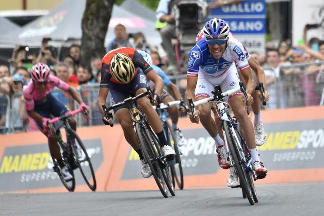 Pra fazer história Pinot vence e Giro terá o final mais apertado da história!
