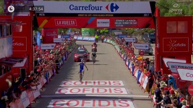 Quick-Step vence mais uma na Vuelta com Alaphilippe!