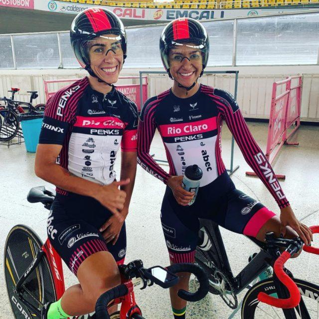 Ciclismo de Pista: Wellyda e Daniela conquistam Prata em Cali na Colômbia
