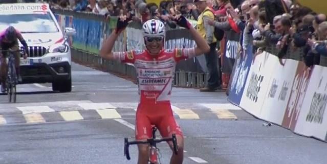 Fausto Masnada vence etapa final do Tour dos Alpes! Pavel Sivakov é campeão!