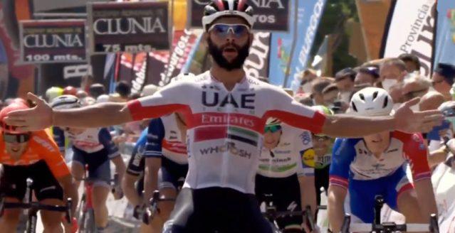 Fernando Gaviria vence etapa em Burgos