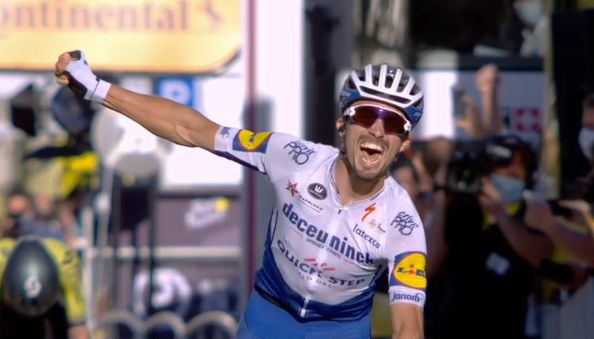 Alaphilippe vence etapa e é o camisa amarela do Tour de France 2020