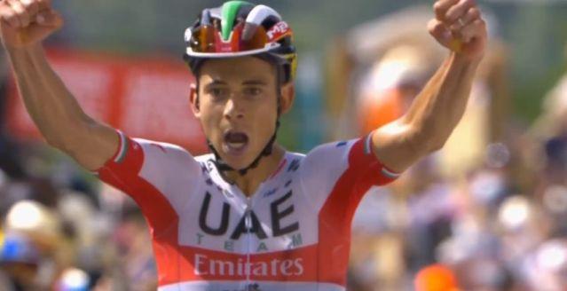 Davide Formolo vence em chegada ao alto no Critérium du Dauphiné