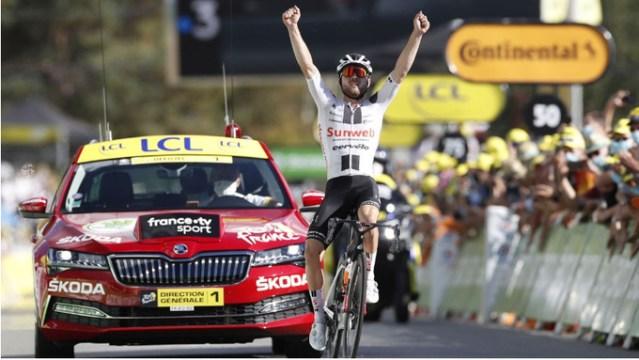 Marc Hirschi vence no Tour de France!