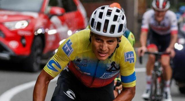 Equatoriano Jonathan Caicedo venceu o Giro no Monte Etna
