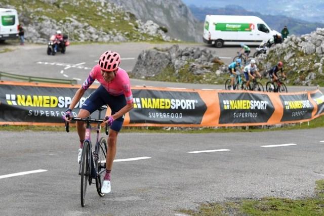 Hugh Carthy vence no Angliru e Carapaz volta a ser líder da Vuelta