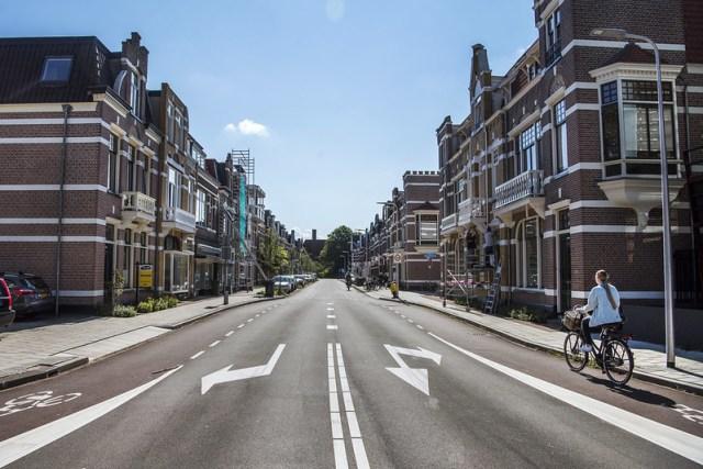 Rua Hendrik van Viandenstraat nos dias atuais