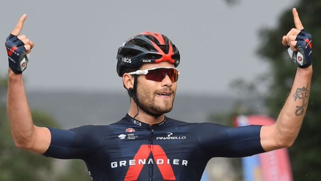 Filippo Ganna vence 4ª Etapa da Etouile de Besseges | Foto AFP