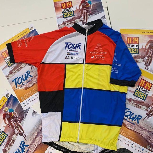 Camisa de líder do Tour de La Provence | Foto Divulgação TDLP