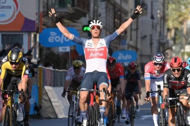 Jasper Stuyven vence a Milano Sanremo!