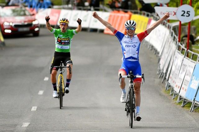 David Gaudu vence Volta ao País Basco com Roglic campeão | foto David Ramos Getty Images