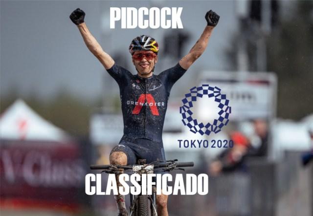 Tom Pidcock garante vaga a Tóquio!