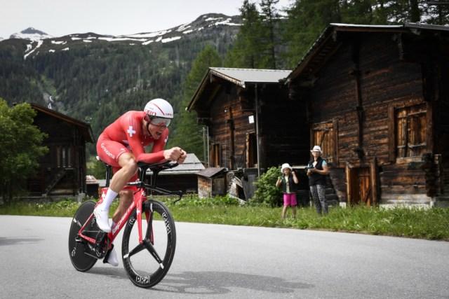 Stefan Kung Tour da Suíça 2019 - Foto Gian Ehrenzeller