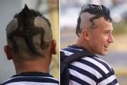 peinados diferentes extravagantes