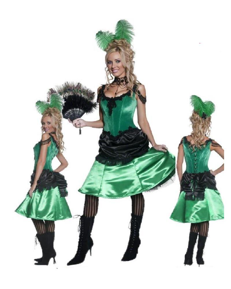 Costume Carnevale Donna Abito Western Saloon 09916  Pelusciamocom