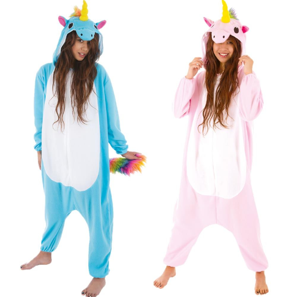 Costume Carnevale Donna Travestimento Unicorno Peluche PS 25708  Pelusciamocom