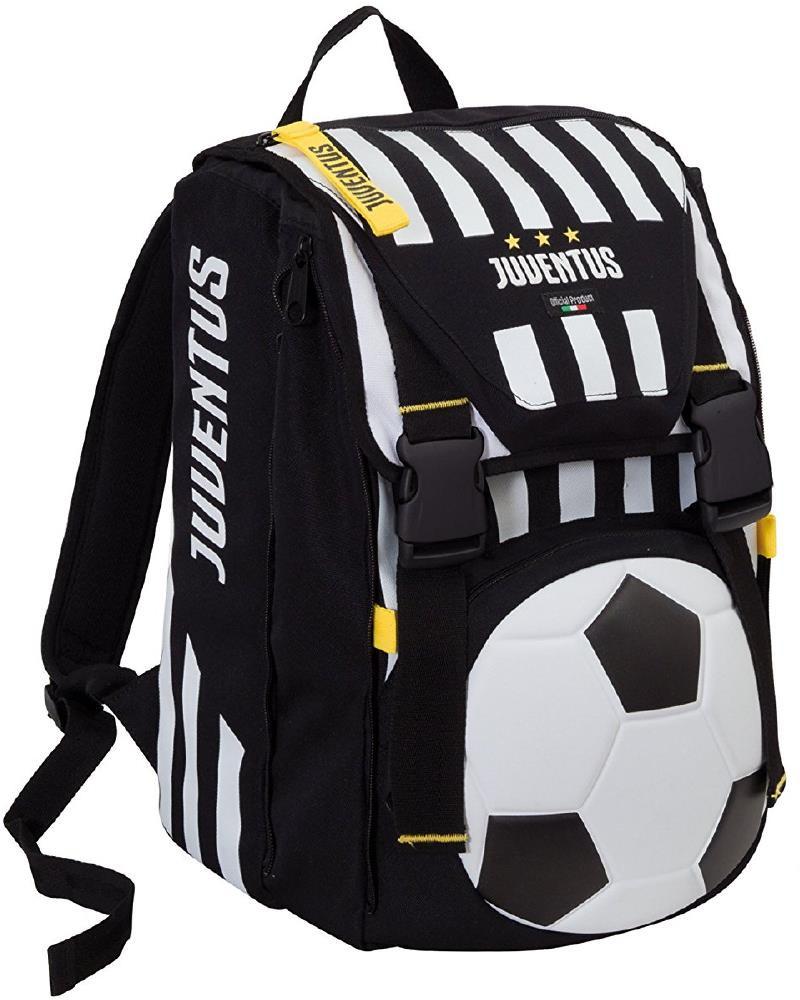 Zaino Juventus Scuola Estensibile + Pallone Calcio Juve PS 06583 | Pelusciamo.com