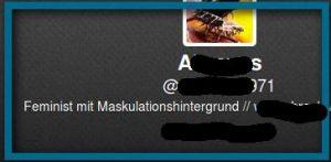 aus Wortschranks, Abraxas71 Twitter-Profil