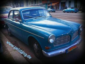 Ein Volvo in Pankow
