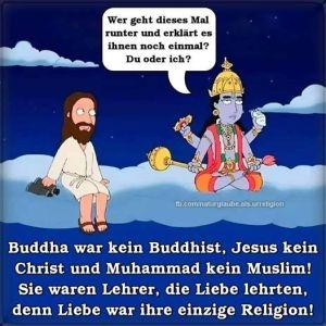 Buddhismus, Christentum, Islam - voller Liebe?