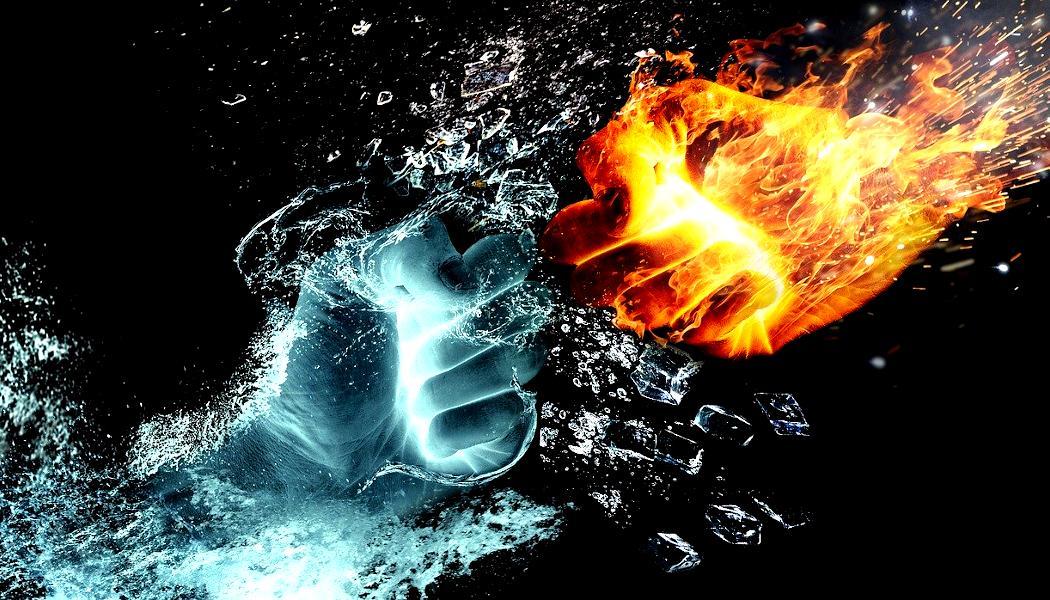 Feuer und Wasser - Borderlin - pelzblog