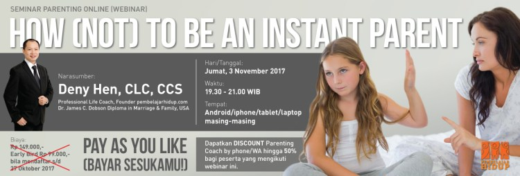 seminar online how not to be an instant parent