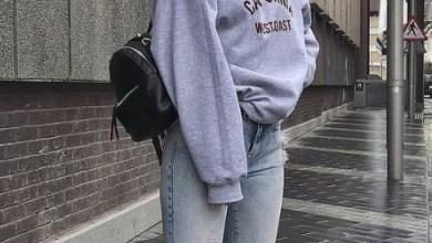 Sweatshirt jean kombinleri