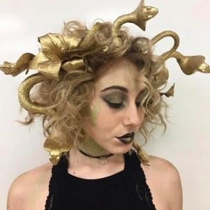 cadılar bayramı saç modelleri