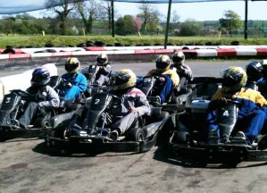 Go Karting at Heatherton in the Pembrokeshire Coast National Park