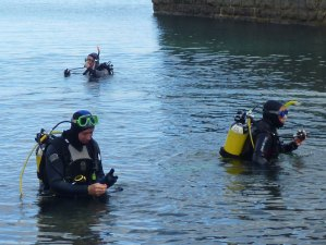 Diving in the Pembrokeshire Coast National Park