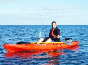 Kayak Fishing in the Pembrokeshire Coast National Park
