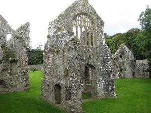 Lamphey Bishop's Palace in the Pembrokeshire Coast National Park