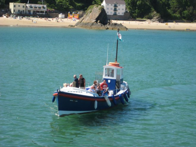Mackerel Fishing in the Pembrokeshire Coast National Park