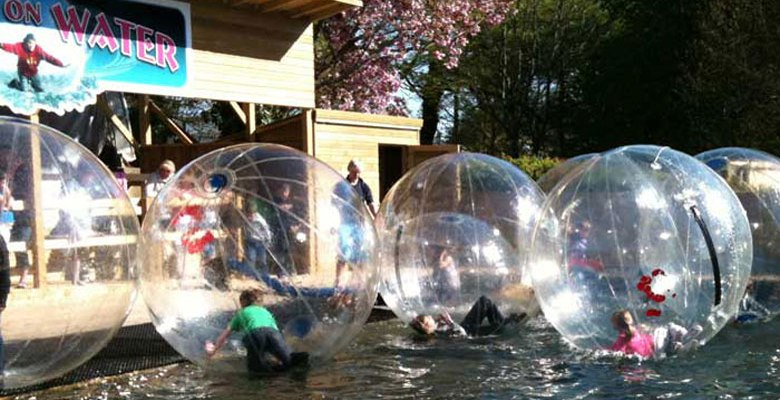 Walk on Water, Heatherton Activity Park, Family Activity Holidays