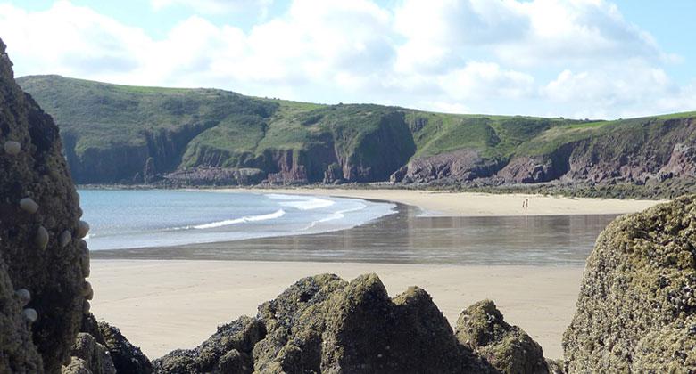 Beaches of Pembrokeshire - Swan lake Bay