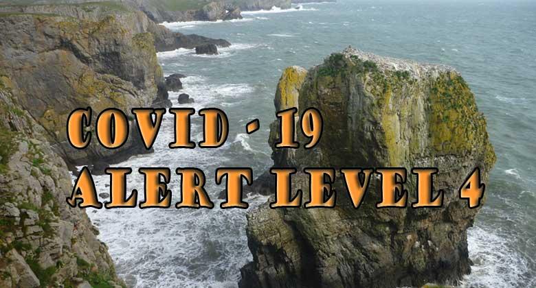 Covid 19 Alert Level 4
