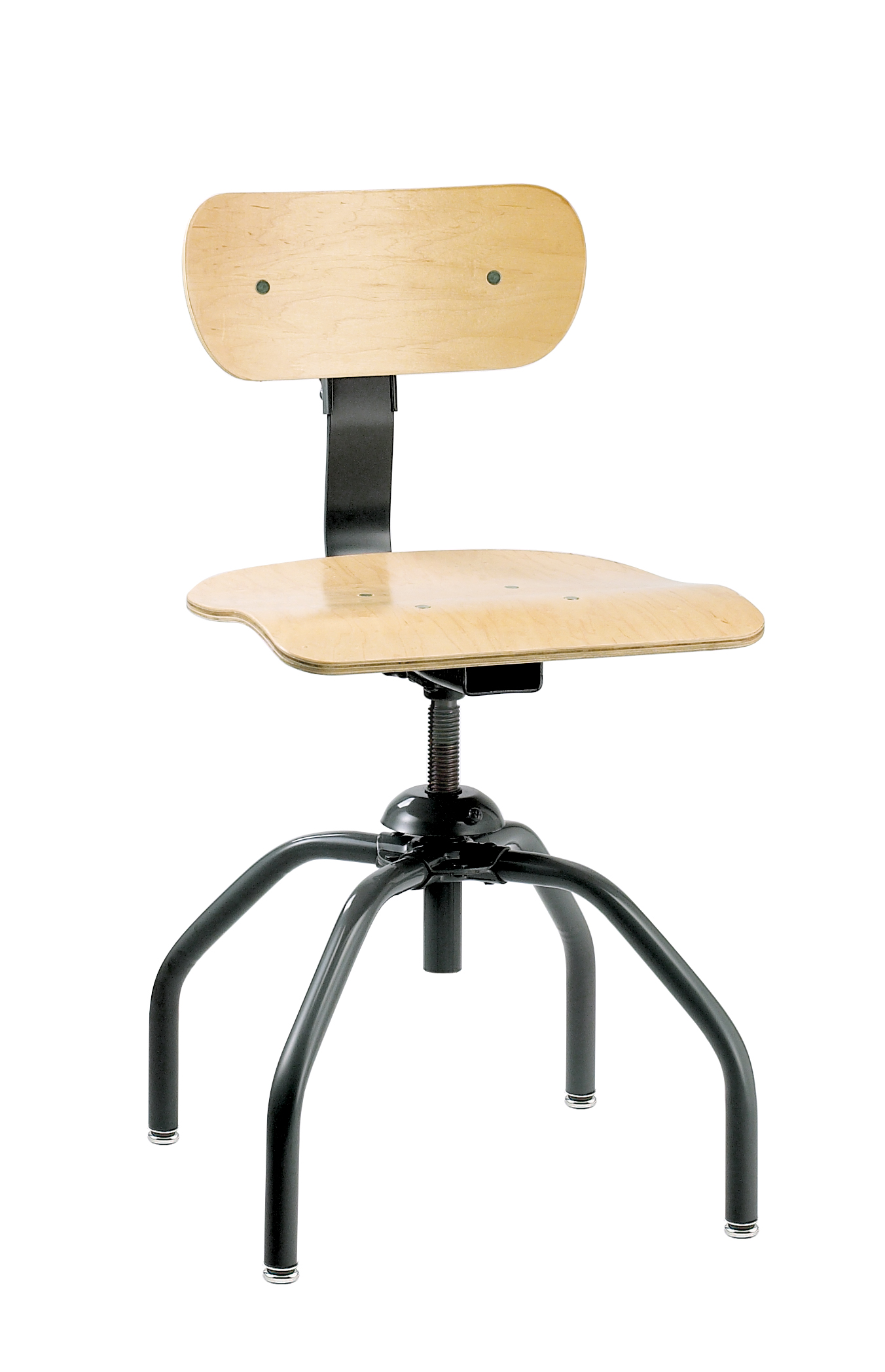 minimal chair height stand test patch leather bevco 1260 4 leg plywood swivel ii