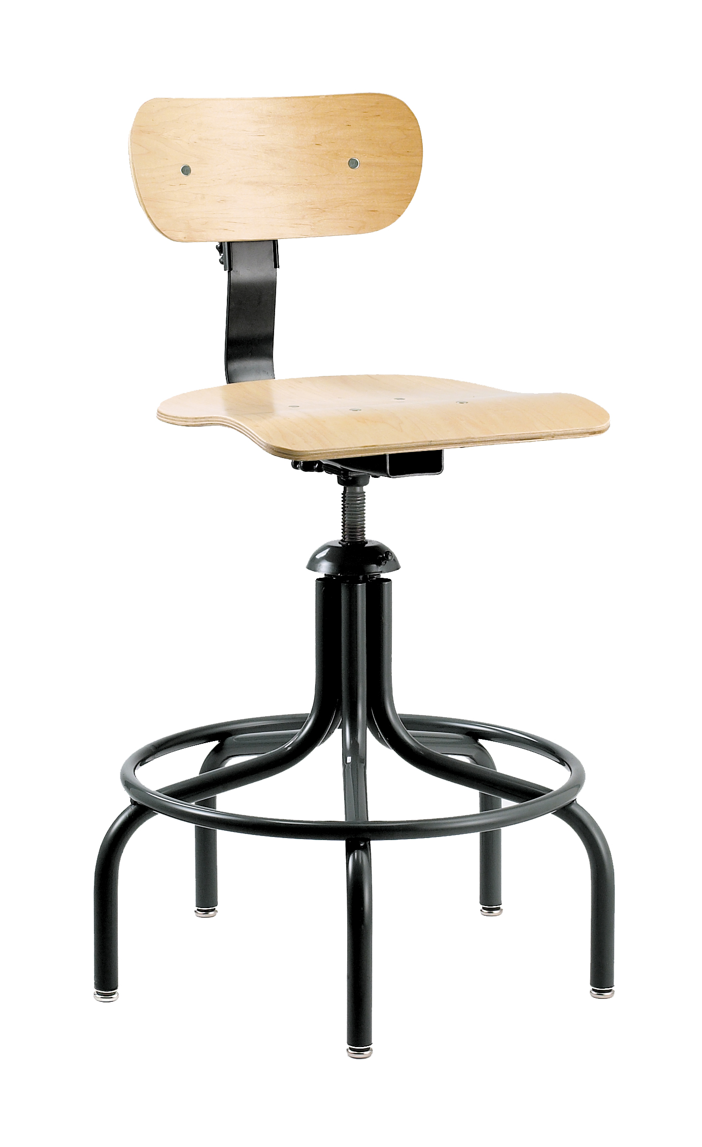 minimal chair height stand test john lewis deck covers bevco 1500 5 leg swivel ii plywood w glides