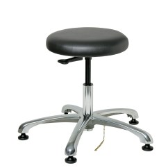 Minimal Chair Height Stand Test Steel Outdoor Bevco 3050e1v Cleanroom And Esd Stool 15 5 Quot 20