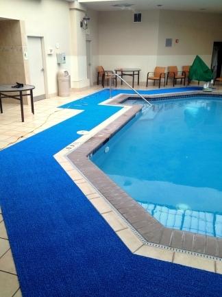 Aquatic Matting Pool Deck Mats  Flooring  PEM Surface