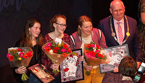 Nieuwjaarsfeest in theater DE KOM