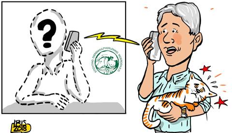 PENTekening: 'Dierenhulpverlening in o.a. Nieuwegein trekt aan de bel'