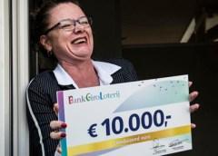 Inwoner uit Nieuwegein wint 10.000 euro in BankGiro Loterij